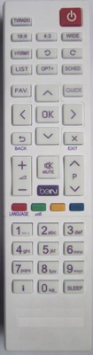 High Quality TV Remote Control (RD-7)