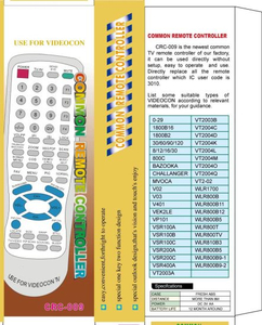 Universal Remote Control for TV (URC-6)