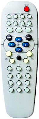 ABS Case TV Remote Control (RC19335010-00)