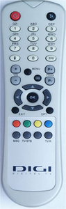 TV Remote Control with ABS Case (DIGI)