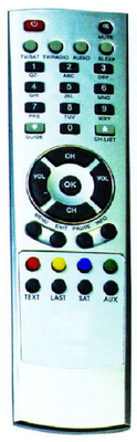 ABS Case Remote Control for Satellite (sat-8)