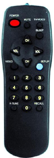 ABS Case Remote Control for TV (EUR501330)
