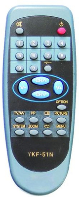 High Quality TV Remote Control (YKF-51N)